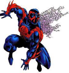 Il mondo dell'uomo ragno 2099, creato da peter david e rick leonardi