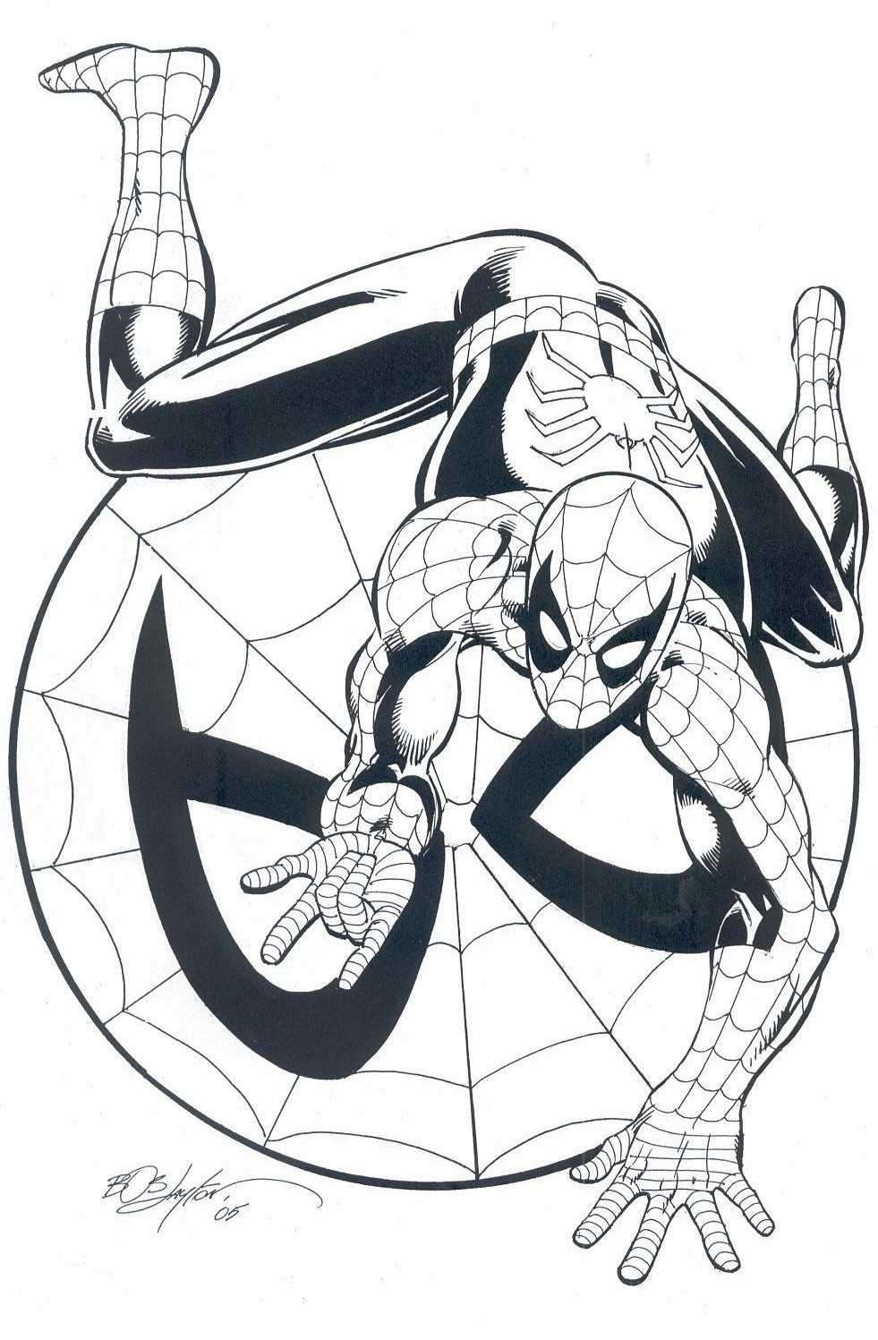 Uomo ragno immagini for Uomo ragno immagini da colorare